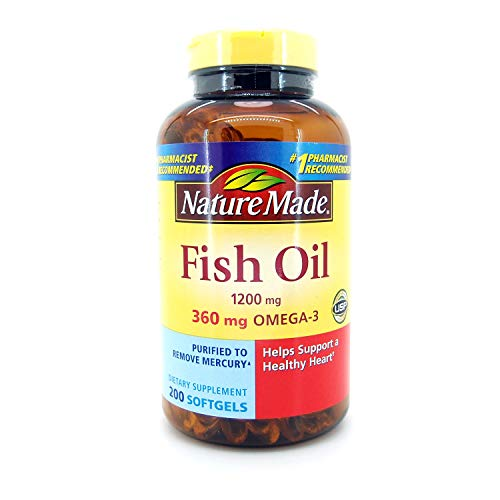 Health Nature Made Omega3 1200 Mg Fish Oil Supplement