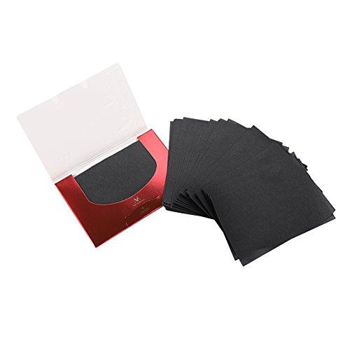 Öl-absorbierendes Papier, 90Pcs / Pack Make-upfilm-Öl-absorbierende Steuerblätter-Gesichts-sauberes Schönheits-Löschpapier-Kosmetik