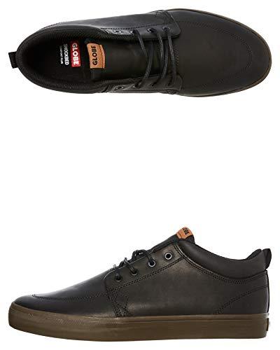 Globe GS Chukka, Zapatillas de Skateboarding para Hombre, Multicolor (Black Leather/Chocolate 000), 40.5 EU