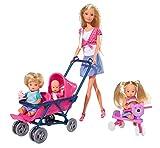Simba - 105736350 - Steffi Love – Le Monde de bébé – Poupée 29 cm, Enfants et Accessoires