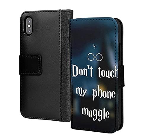 Dont Touch My Phone Muggle - Funda de piel sintética para Samsung Galaxy Mate 30 Pro