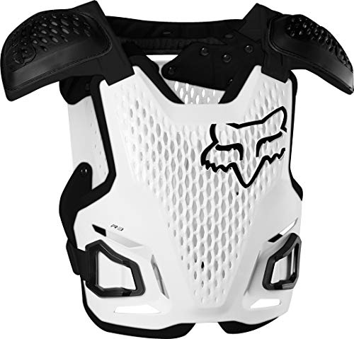 Fox Racing R3 Roost Guard, White, Large-X-Large