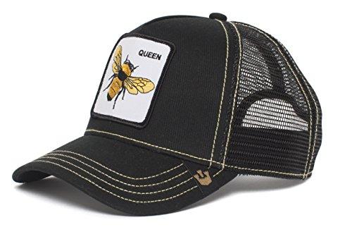 Gorra trucker negra abeja Queen Bee de Goorin Bros. - Negro, Talla unica