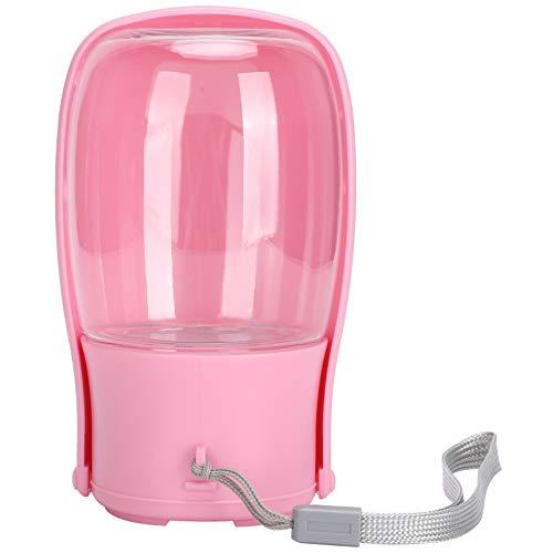 KUIDAMOS Botella de Agua para Mascotas portátil Botella de plástico Plegable para Mascotas de Calidad Botella para Mascotas al Aire Libre para Perros y Gatos(Folding Cup Powder)