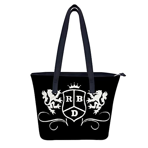 RBD - Bolso de mano para mujer, peso ligero, para negocios, oficina, trabajo, maletín grande, bolsa de ordenador