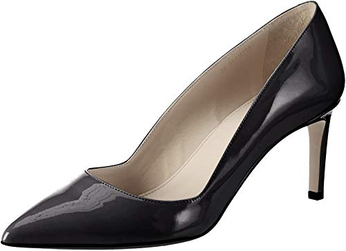 HUGO Damen Hellia-P Pumps, Schwarz (Black 001), 37 EU