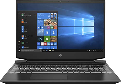 HP Pavilion Gaming 15-ec2005ns - Ordenador portátil de 15.6' Full HD (AMD Ryzen 5 5600H, 8GB RAM, 512GB SSD, NVIDIA GeForce GTX 1650, FreeDOS) Negro - Teclado QWERTY Español