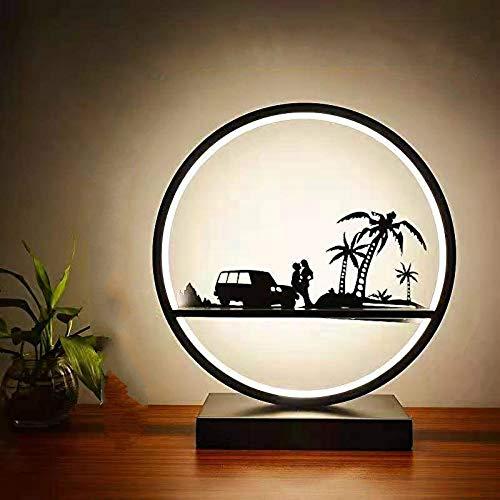 Lámpara de mesa con atenuación nórdica, lámpara de mesa con protección ocular de estudio, luz de noche para el dormitorio junto a la cama, lámpara de mesa LED para decoración de suspensión para sala