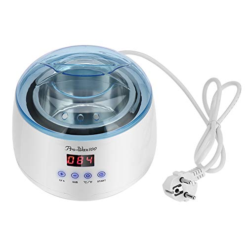 Intelligente wasmachine, professionele draagbare wasverwarmer Ontharingswas Boonverwarmingssmelter met snelle verwarming Intelligente constante temperatuur voor salon thuis(EU)