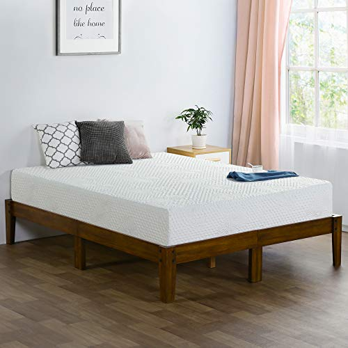 Olee Sleep 8 Inch Ventilated Convolution Memory Foam Mattress Full