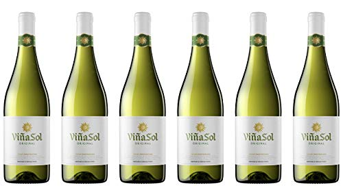 Viña Sol, Vino Blanco - 6 botellas de 75 cl, Total: 4500 ml