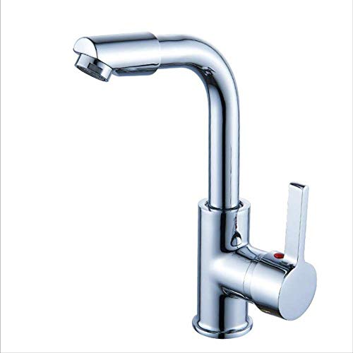 Baño Facuets Cromados Lavabo Lavabos De Agua Fría Y Caliente Grifería De Baño Lavabo De Estilo Clásico A