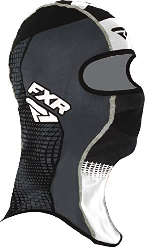 Buy FXR Shredder Tech Balaclava Facemask Black/Charcoal/White LG