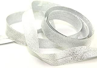 Minerva Crafts Metallic Lurex Bias Binding Tape - per 2 metres
