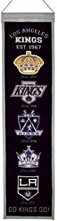 Los Angeles Kings Logo Evolution Heritage Banner