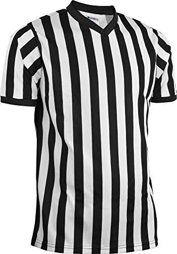 Sports Unlimited V-Ausschnitt Erwachsene Schiedsrichter Jersey, Large