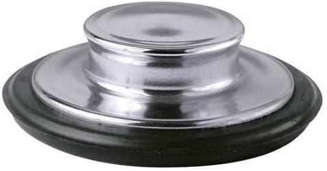 Black Sink Stopper for Garbage Disposals