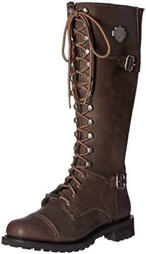 [Harley-Davidson] Women's Beechwood Work Boot, Black, 11 M US