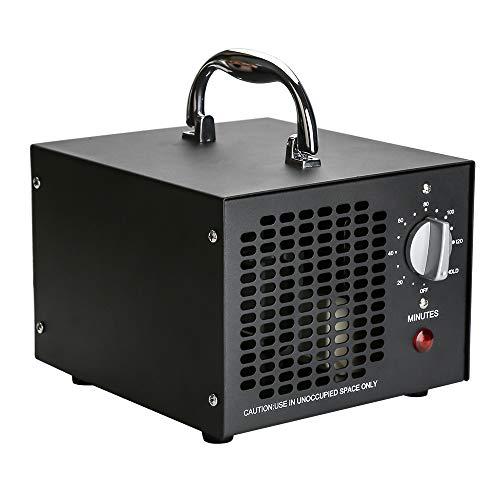 wolketon generador de ozono 10,000mg / h, purificador de Aire de ozono con Temporizador, ozonizador de Dispositivo de ozono 65W para Habitaciones