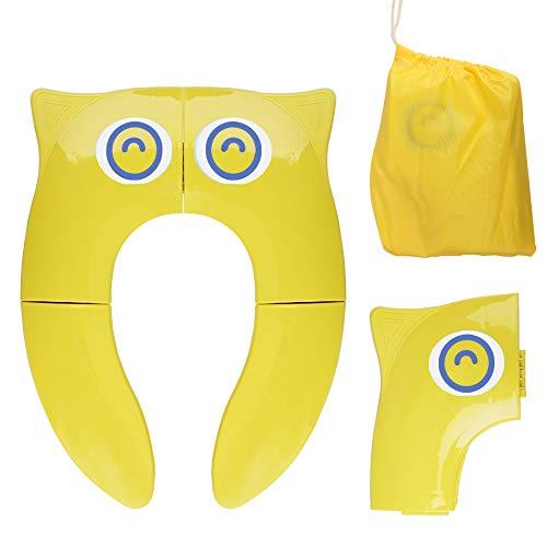 Asiento de Inodoro Plegable para Niños, Opret Tapa WC Orinal Bebe Reductor...
