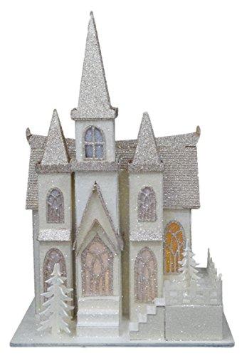 Christmas Concepts 16'LED AccendereCathedral - Decorazioni Natalizie Scene del Villaggio di Natale