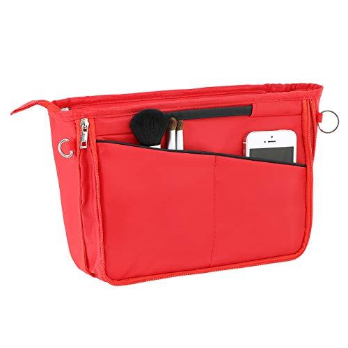 Uoisaiko Taschenorganizer für Tasche Shopper, Handtaschen Organizer mit Reißverschluss, Erweiterbar Leicht Innentasche für Handtasche