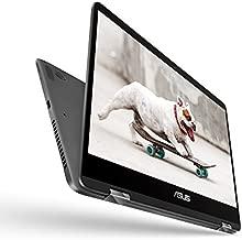 "ASUS ZenBook Flip 14 Ultra Slim Convertible Laptop, 14"" Full HD WideView, 8th Gen Intel Core i7-8565U, 16GB RAM, 512GB PCIe SSD, GeForce MX150, Windows 10, UX461FN-DH74T"