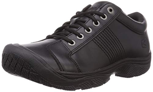 KEEN Utility mens Keen Utility Men's Ptc Oxford Shoe,black,10 M Us Work Shoe, Black/Black, 10 US