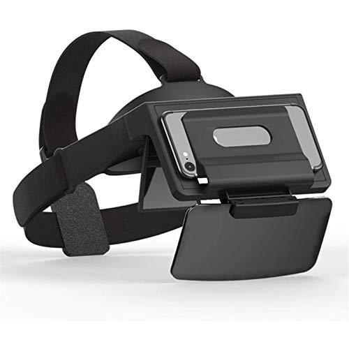 Adesign Auriculares de Gafas de Realidad Virtual 3D, Vasos VR Todo en uno, Duradero y cómodo, Compatible con iOS/Android, para Video, película, entretenimientos