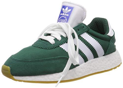 adidas I-5923 W, Zapatillas de Gimnasia para Mujer, 44 EU, Verde (Collegiate Green/Ftwr White/Gum 3)