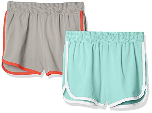 Amazon Essentials 2-Pack Active Running Short Niñas