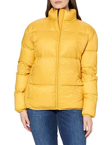 Sparkz Damen Jacke Pretty Puff Jacket, Yellow (Mustard 378), 36 (Herstellergröße:M)