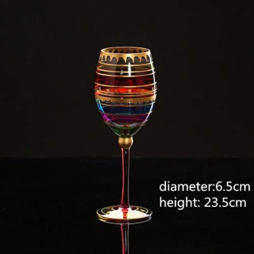BAYUE Creatief gesneden tekening Crystal Cocktail Champagne Wodka Wijnglazen Bekers Bruiloft Bar Party Drinkware Tool