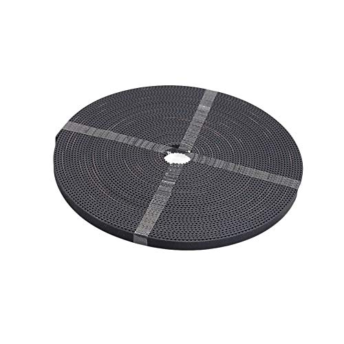 YUNJINGCHENMAN 2Meters T2.5 Open Timing Belt Width 6mm for T2.5-6mm Timing Pulley 3D Printer Parts Accessory