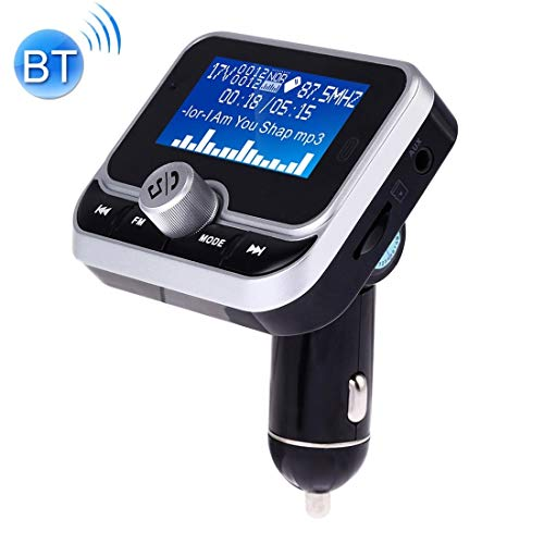 Panel de carga del voltímetro LED del coche DUAL USB CARGA BLUETOOTH CARGADOR DE CUCHO FM TRANSMISIÓN FM MP3 Reproductor de música MP3 Kit de automóvil, soporte Llamada de manos libres