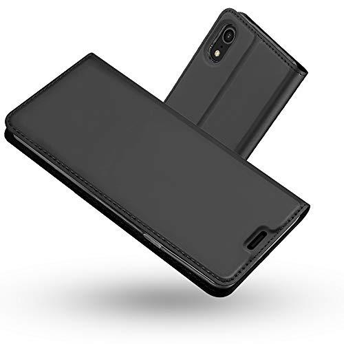 Radoo Funda iPhone XR, Slim Case de Estilo Billetera Carcasa Libro de Cuero,PU Leather con TPU Silicona Case Interna Suave [Función Soporte][Cierre Magnético] para iPhone XR 6.1