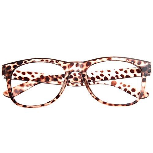 Casinlog Accesorios de fiesta para niños y niñas, niños, sin lentes, leopardo, Taille unique