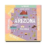 Arizona Kühlschrankmagnet Phoenix Poster Grand Canyon