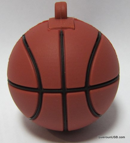 USB215 16GB-32GB Goma Pelota Baloncesto (32GB)