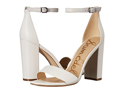 [サムエデルマン Sam Edelman] シューズ 27.0 cm ヒール Yaro Ankle Strap Sandal Heel Bright Whi レディース [並行輸入品]