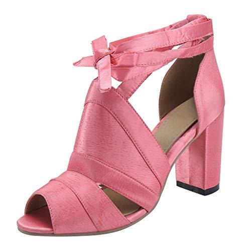 Dames Highheel sandalen riempje slingbacks Peep Teens Party schoenen vrouwen enkelriem kloven hiel ruches schoenen sandaletten By Vovotrade