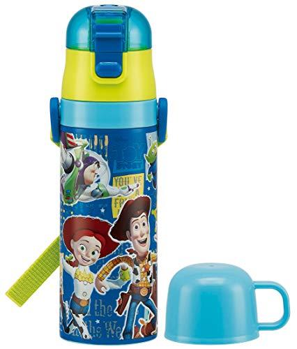 スケーター子供用2WAYステンレス水筒コップ付きトイ・ストーリー19ディズニー430mlSKDC4