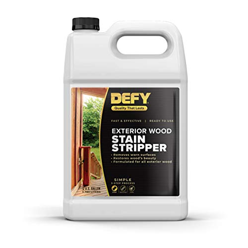 DEFY Exterior Wood Stain Stripper, 1 Gallon