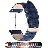 Fullmosa Colores para Correa de Reloj, Cross Piel Correa Huawei Samsung Correa/Banda/Band/Pulsera/Strap de...