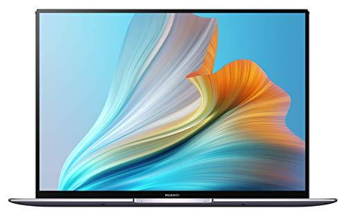 HUAWEI MateBook X Pro 2021 - 3K FullView Touchscreen Display, Aluminium UniBody, 11th Gen Intel i5-1135G7, 16 GB RAM, 512 GB NVMe PCIe SSD, HUAWEI Share, HUAWEI Free Touch, Win 10 Home, Space Grau