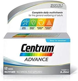 Centrum Advanced Multivitamins/Multimineral, 60 Tablets