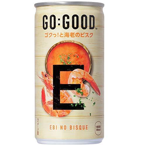 コカ・コーラ ゴーグッド 海老のビスク 缶 190g ×30本