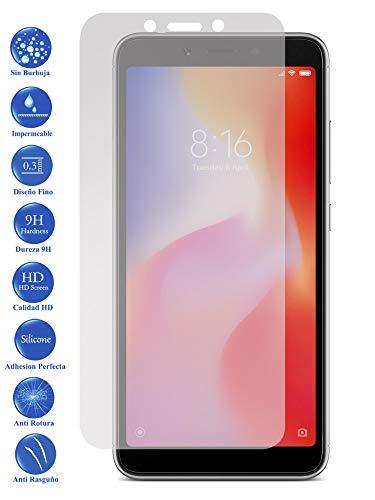 Todotumovil Protector de Pantalla Xiaomi Redmi 6A de Cristal Templado Vidrio 9H para movil