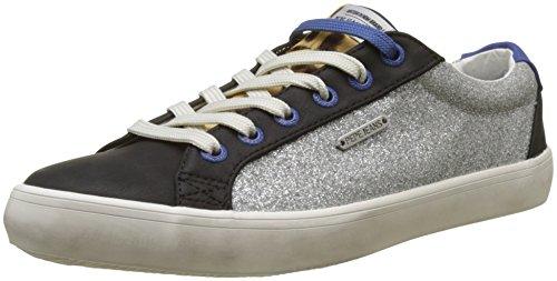Pepe Jeans London Damen STARK BLIM Sneaker, Silber (Silver), 39 EU