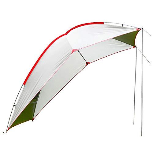 Outdoor Kuppelzelt Camping Tarp Shelter Leichte Hängematte Regenfliege Wasserdicht Kompakt Zum Angeln Strand Picknick Campingzelt (Farbe : A)